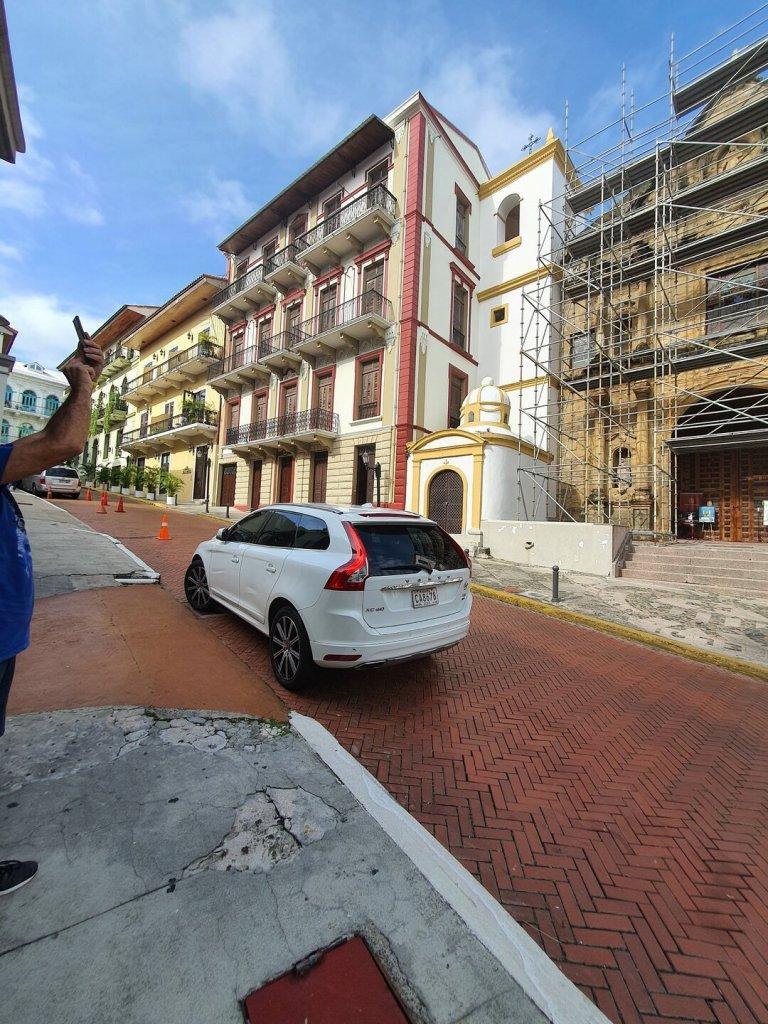 prédios da Antiga Panamá