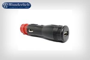 Adaptador toma de corriente para USB universal