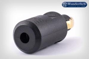 Conector compatible con toma de corrriente DIN