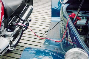 Set de arranque de motocicletas