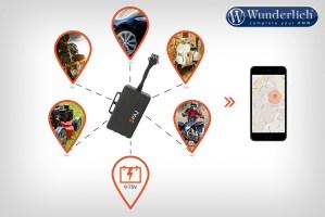 Buscador GPS MOTORCYCLE: dispositivo de localización y de seguimiento