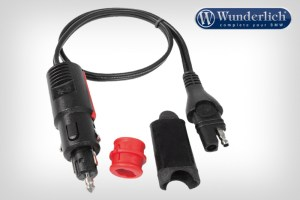 Conector combinable Optimate para tomas DIN y de mechero con fusible d