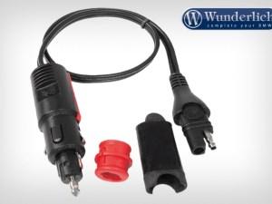 Conector combinable Optimate para tomas DIN y de mechero con fusible d