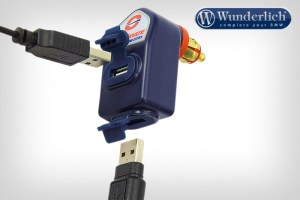 Doble conector USB Optimate