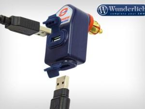 Doble conector USB Optimate