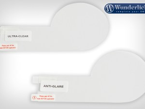 Set de láminas protectoras de pantalla para la S 1000 R
