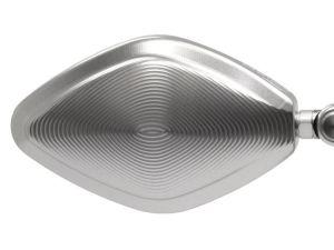 "Carcasa de retrovisor de aluminio MFW ""NakedBike"""