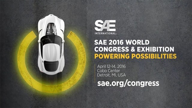 SAE World Congress 2016