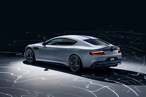 Production Model of the Aston Martin Rapide E Powered By Integral e-Drive