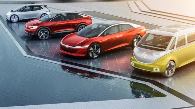 Volkswagen ID Electric Vehicle Family 2020