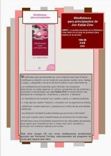 imagen del libro Mindfulness para principiantes