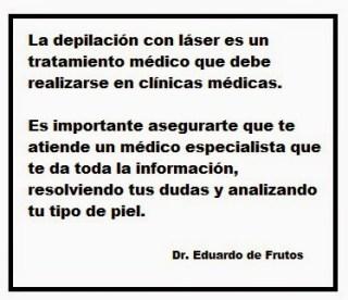 La depilación láser es un tratamiento médico