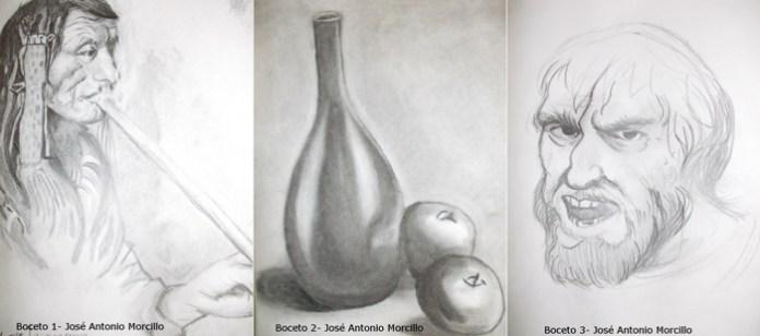 Bocetos José Antonio Morcillo