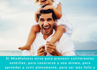Frase sobre Mindfulness.