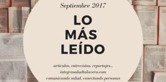 Lo más leído septiembre 2017