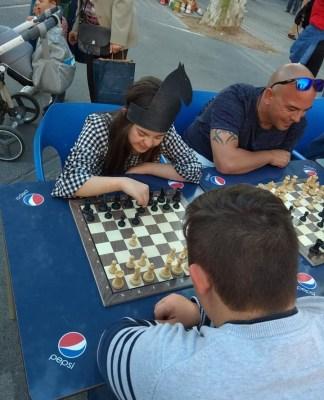 Salud mental jugando al ajedrez