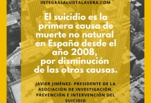 Suicidio. Primera causa de muerte no natural desde el 2008.