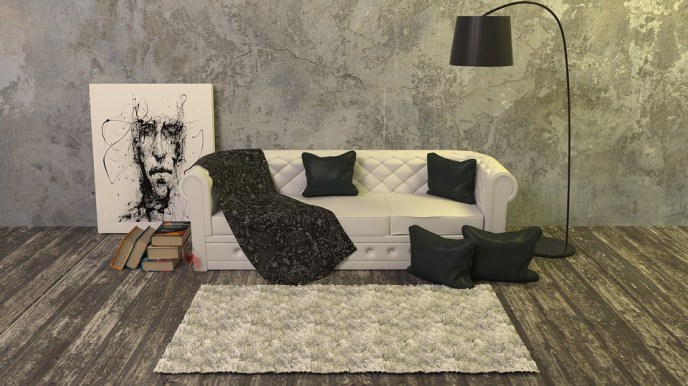 Formaldehyde and flame retardants from furniture and carpeting, in addition to volatile organic compounds from paints and carpet