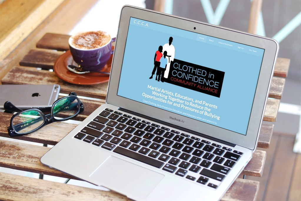 Website Project: Clothed in Confidence Community Alliance