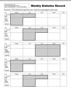 diabetes log sheets - Cypru.hamsaa.co