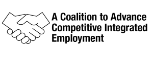 A coalition to advance competitive integrated employment logo