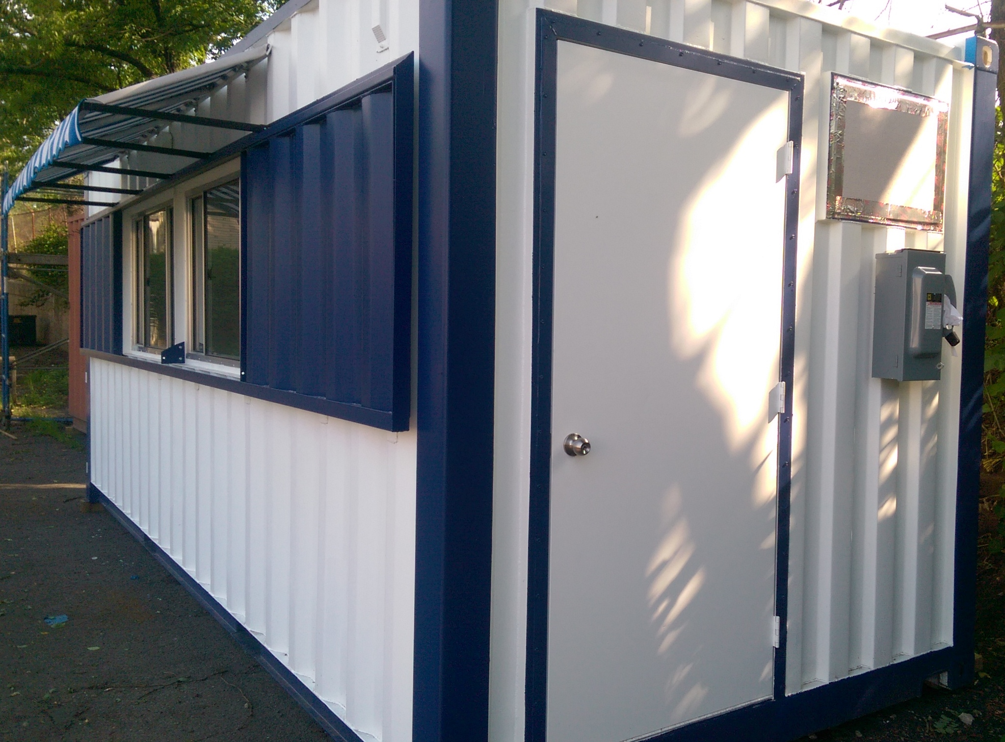 Container Pop Up Shop Portable Concession Stands