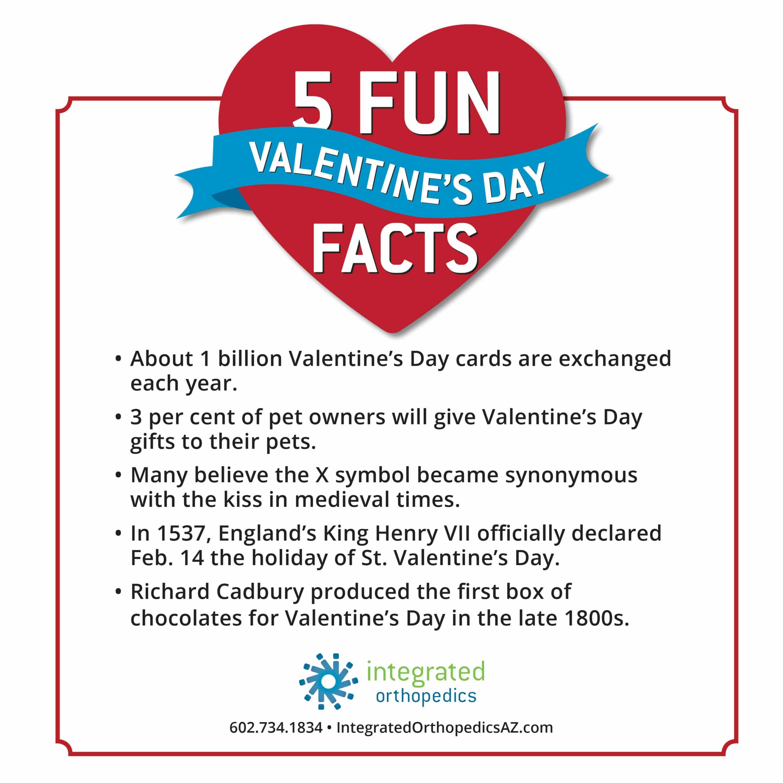 Happy Valentine S Day 5 Fun Facts