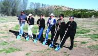 Ground breaking ceremony with Pueblo leaders
