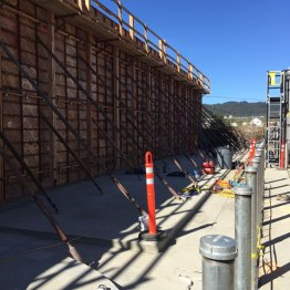 Firewall Forms Prior to Pour