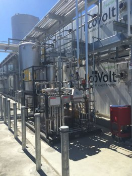 Gas Treatment Skid and EcoVolt Unit