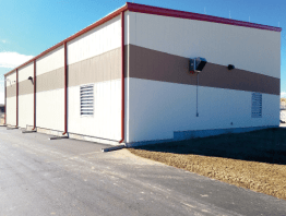 Completed Treatment Building