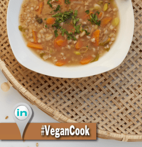 Vegan Cook Sopa de Cebada Integrate News