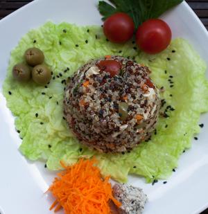 Integrate News Vegan Cook ensalada salad Quinoa Salvatore Lucherino 02