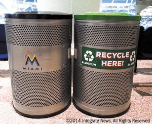 marlins park environmental commitment integrate news miami