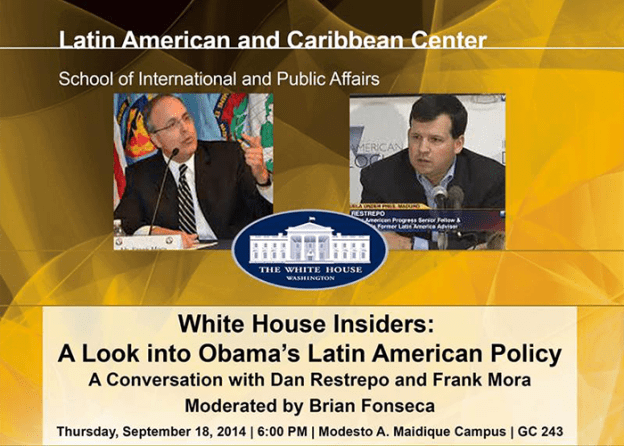 white house insiders frank mora brian fonseca lacc florida international university integrate news