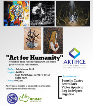 Arts for Humanity giving back to the community integrate news