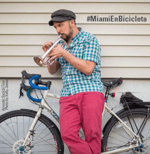 Miami bicicleta musica sobre ruedas integrate news feature
