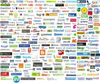 Web 2.0 logos