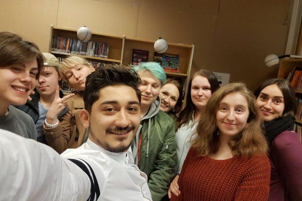 Under temaveckan gjorde eleverna egna kompetensportfolion, fördjupade sig i sina egna och gruppens kompetenser, varvade med intervjuer, test och samarbetsövningar.
