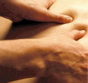 tsubo point thumb pressure massage
