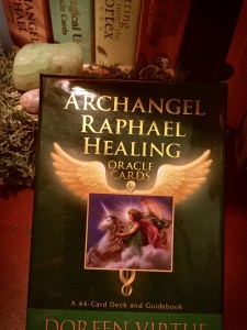 Archangel Raphael Healing Oracle Card Deck