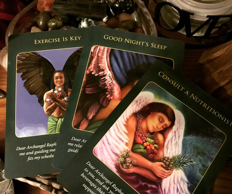 Archangel Raphael Healthy Steps Angel Card Reading