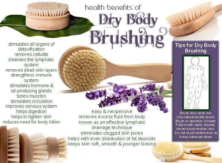 Simple Self Care~Benefits of Dry Brushing~Service Special