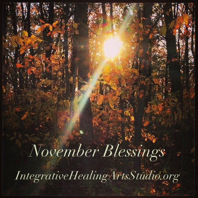 November at Integrative Healing Arts Studio