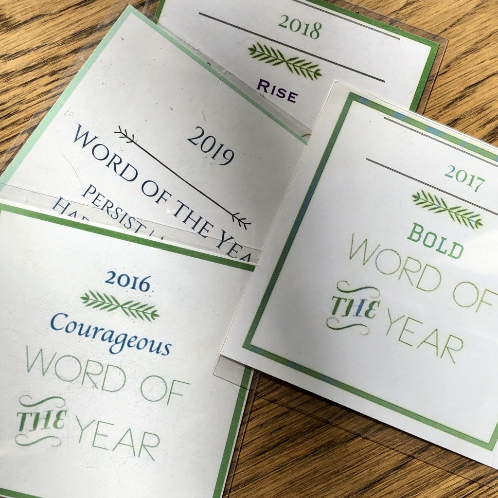 Word of the Year | EudeMOMia | Ginger Garner