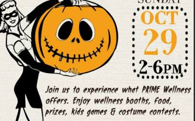 Prime Wellness Halloween Event Invites Integrative Medicine Acupuncture