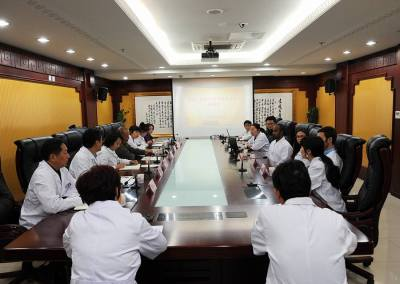Coconut Creek Acupuncturist in China Hospital Meeting