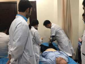 Coral Springs Acupuncture DR observing in China