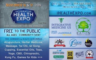 Coral Springs Health Fair November 16 & 17 2019