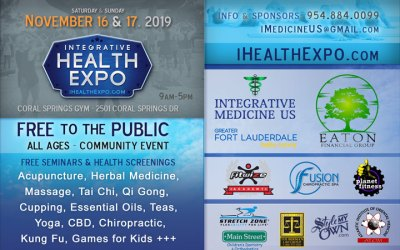 Coral Springs Health Fair November 16 & 17 2019